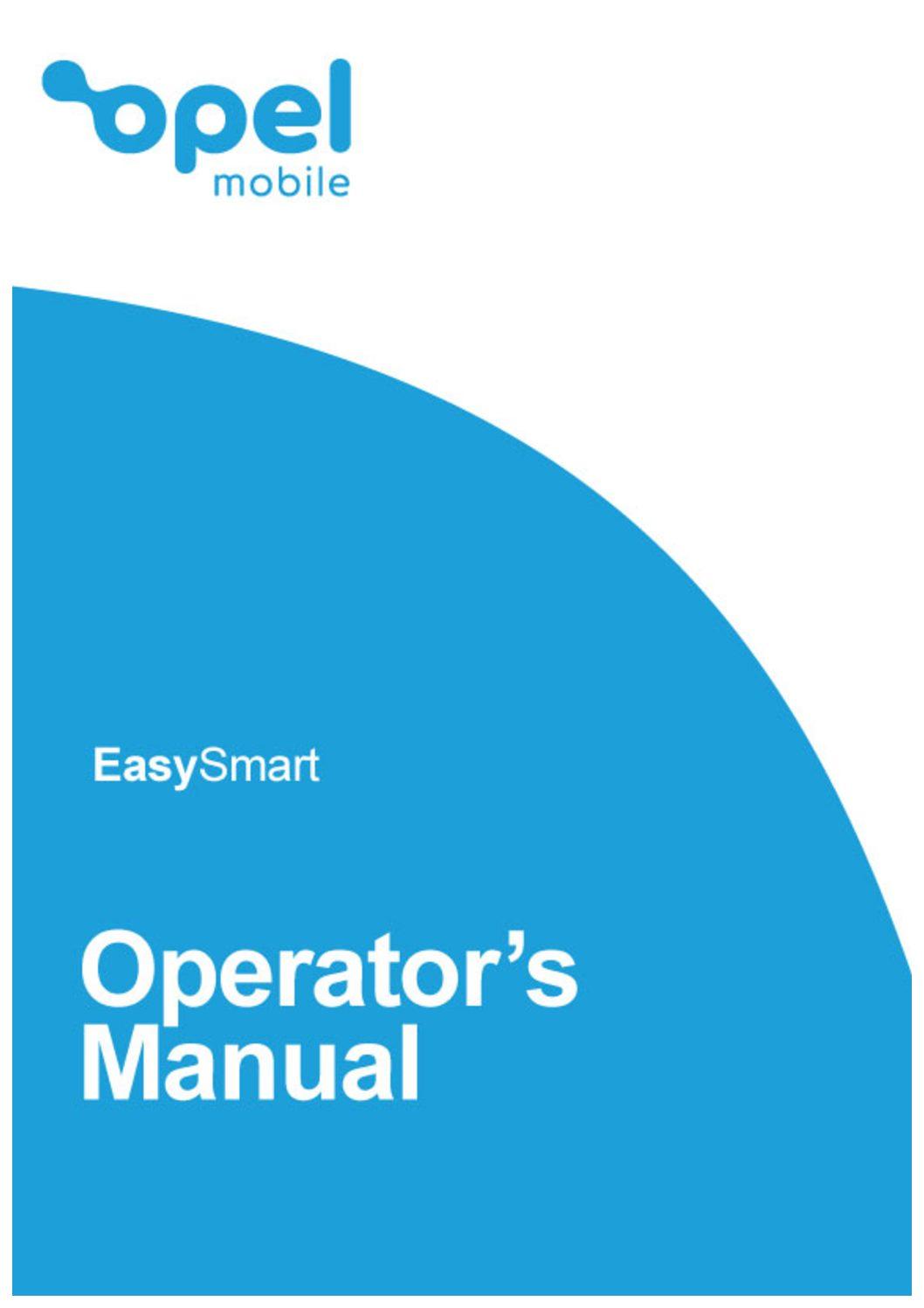 EasySmart Operator's Manual