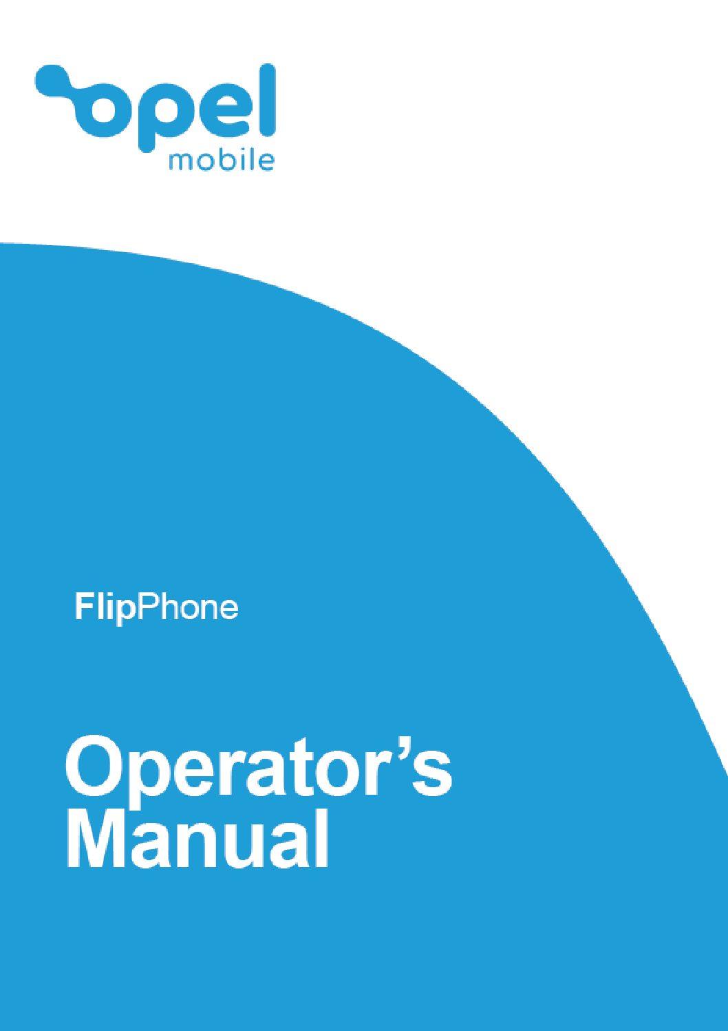FlipPhone Operator's Manual
