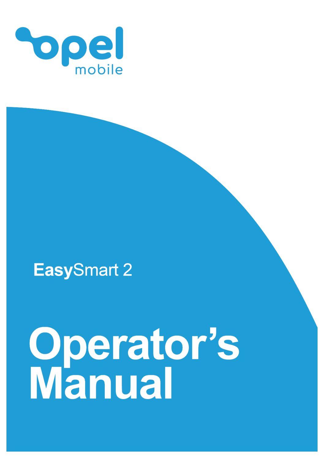 EasySmart 2 Operator's Manual