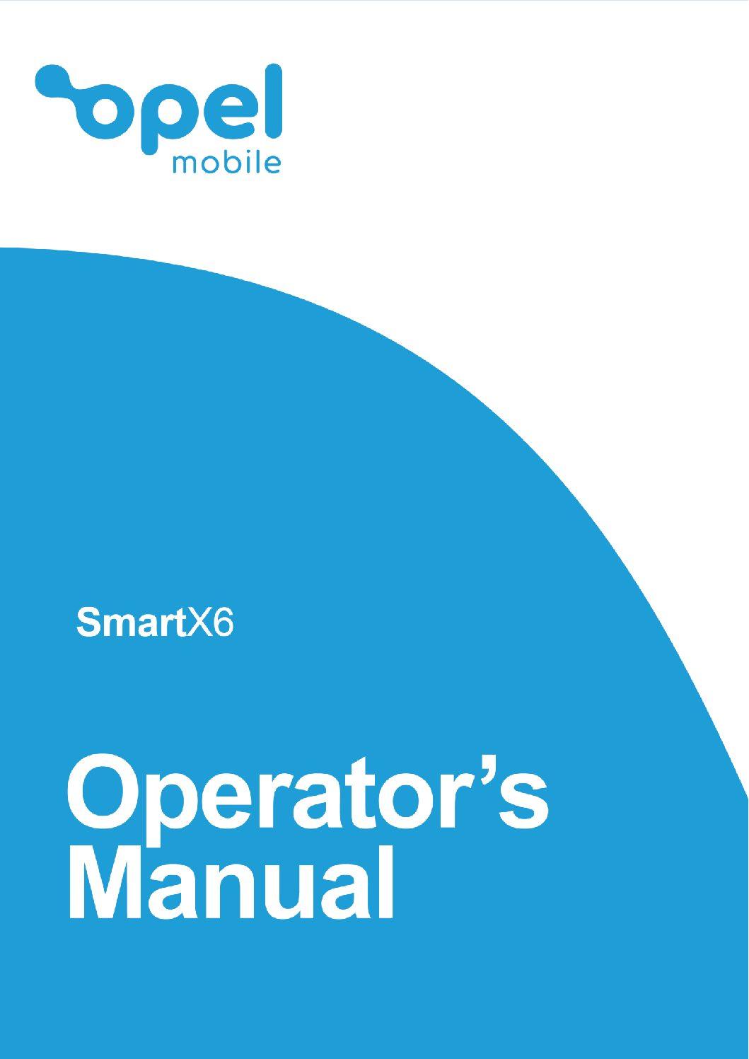 SmartX6 Operator's Manual