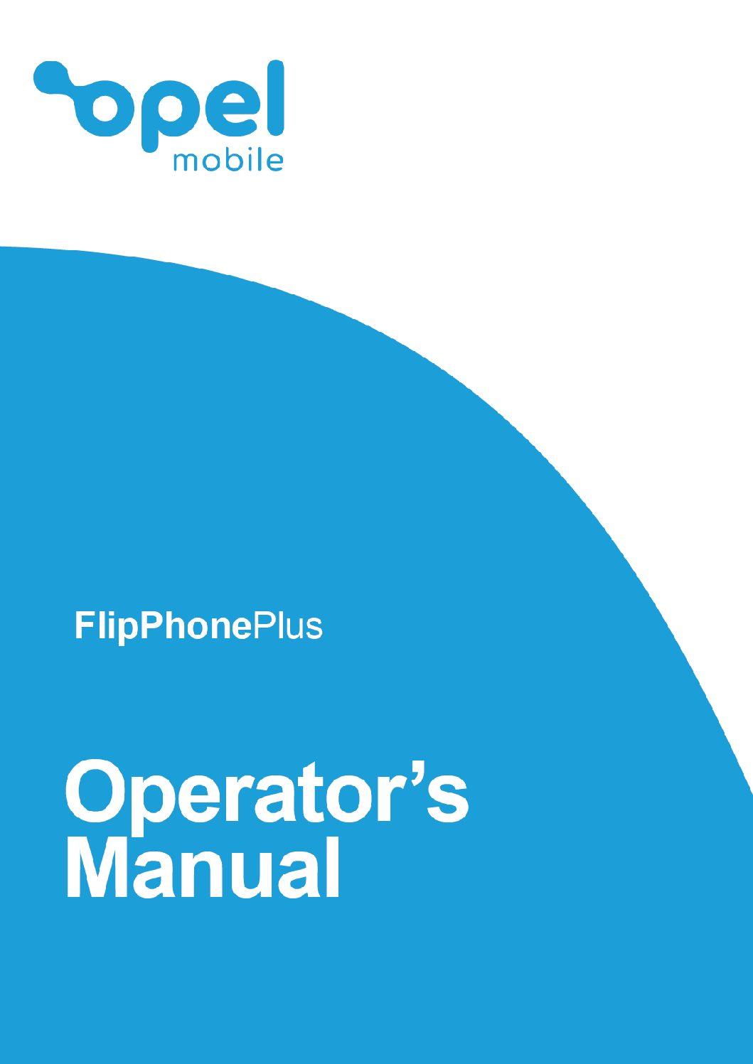 FlipPhonePlus Operator's Manual