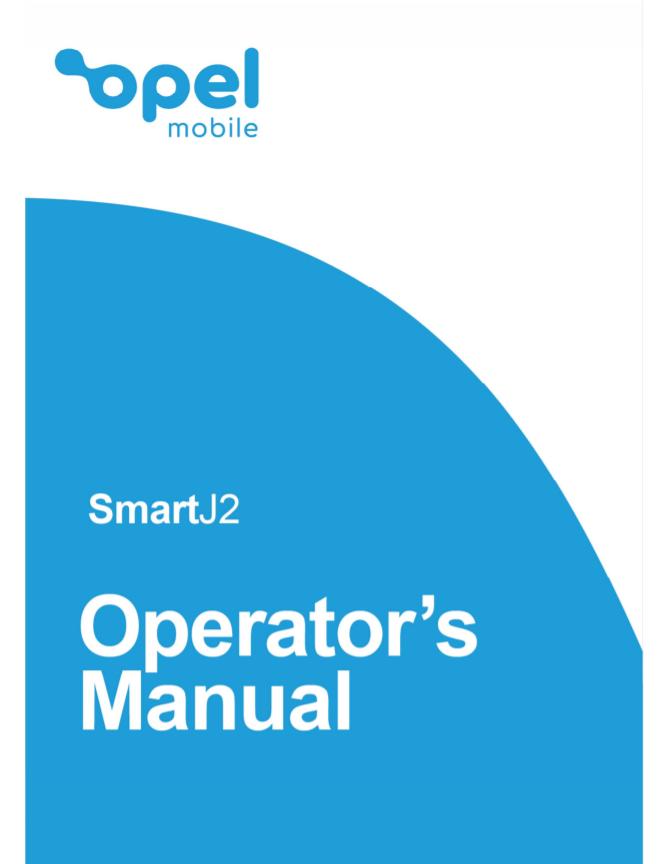SmartJ2 Operator's Manual